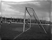 28/03/1954<br /> 03/28/1954<br /> 28 March1954<br /> Soccer:Transport v Cork Athletic at Harold's Cross, Dublin.