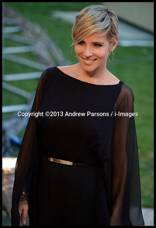 Rush - UK film premiere. <br /> Elsa Pataky during the 'Rush' - UK film premiere, Odeon, London, United Kingdom. Monday, 2nd September 2013. Picture by Andrew Parsons / i-Images