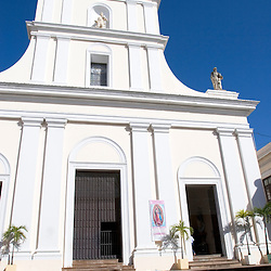 San Juan Cathedral in Old San Juan, Puerto Rico, contains the tomb of Ponce de Leon.