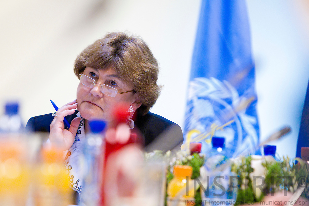 BRUSSELS - BELGIUM - 26 APRIL 2011 - - WHO European Immunization Week 2011 - - Zsuzsanna Jakab, Regional Director, WHO Regional Office for Europe.  Photo: Erik Luntang / INSPIRIT Photo