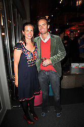 MARK & CECILIA SELBY he is the co-founder of Wahaca at a party to celebrate the publication of Mexican Food Made Simple by Thomasina Miers held at Wahaca, Westfield Shopping Centre, London on 2nd February 2010.