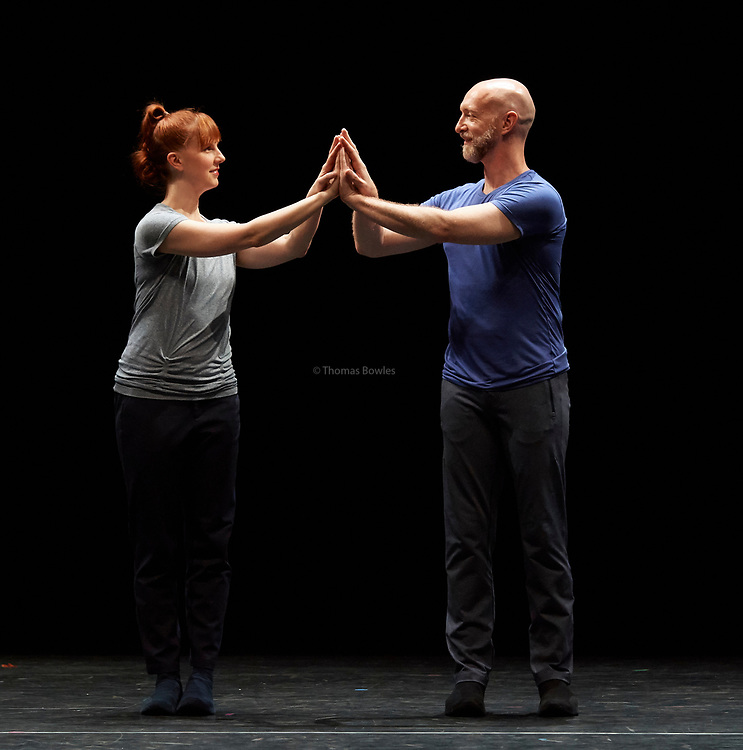 22nd June 2017. Elixir Festival, Knowbody II.Sadler's Wells, London. <br /> Catalogue (First Edition)  - William Forsythe<br /> <br /> Performed by Jill Johnson and Christopher Roman