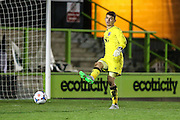 Bristol City goalkeeper Max O'Leary during the The County Cup match between Forest Green Rovers and Bristol City at the New Lawn, Forest Green, United Kingdom on 23 November 2015. Photo by Shane Healey.