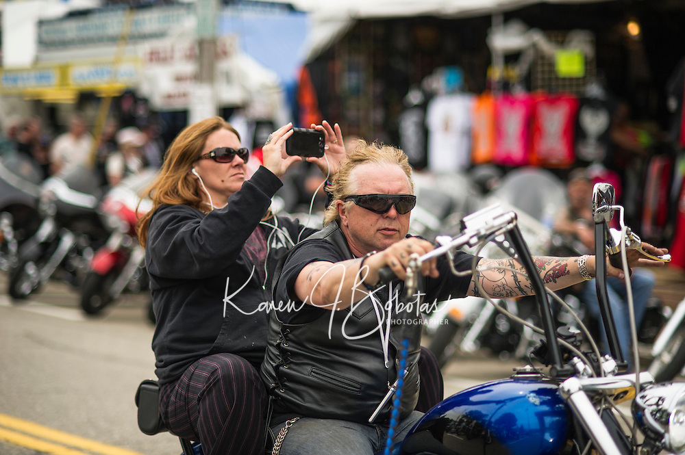 Laconia's Motorcycle Week 2013.  Karen Bobotas/for the Laconia Daily Sun