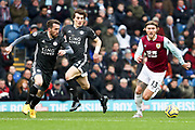 Burnley midfielder Jeff Hendrick in action during the Premier League match between Burnley and Leicester City at Turf Moor, Burnley, England on 19 January 2020.