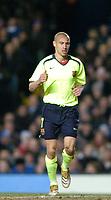 Photo: Richard Lane.<br />Chelsea v Barcelona. UEFA Champions League. 22/02/2006.<br />Barcelona's Henrik Larsson.