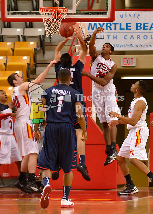 NCAA Men's Basketball - Keydets out-muscle Liberty, 82-69