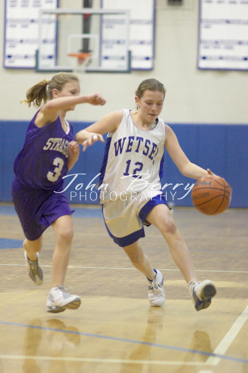 Wetsel Girls Basketball..vs Strasburg..January 11, 2005