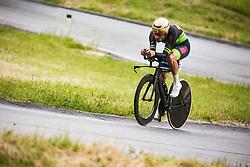 Nik Cemazar during Slovenian Road Cycling Championship in time trial 2020 on June 28, 2020 in Zg. Gorje - Pokljuka, Slovenia. Photo by Peter Podobnik / Sportida.