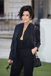 Image ©Licensed to i-Images Picture Agency. 04/06/2014. London, United Kingdom. Royal Academy Summer Exhibition Preview Party. Nancy Dell'Olio arrives to the Summer Exhibition Preview Party at the Royal Academy of Arts. Picture by Daniel Leal-Olivas / i-Images