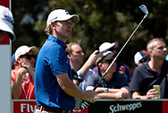 Brandt Snedeker (USA) on the forth tee at Day 1 of The Emirates Australian Open Golf at The Lakes Golf Club in Sydney, Australia.