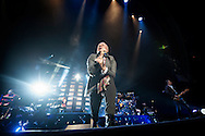 Jim Kerr of Simple Minds performs live at The SEE Hydro on November 28, 2015 in Glasgow,Scotland