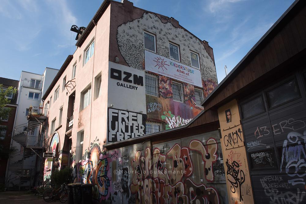 OZM Art Space Gallery, Inhaber: Alex Heimkind