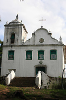 church in the beautiful island of ilha grande near rio de janeiro in brazil