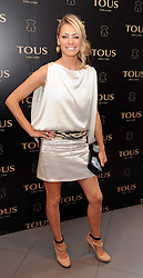 TESS DALY at a party to announce Kylie Minogue as The Face of Tous held at their store 260 Regent Street, London on 8th June 2010.