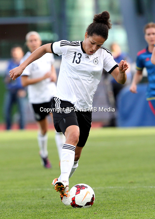 Fifa Womans World Cup Canada 2015 - Preview //<br /> Algarve Cup 2015 Tournament ( Vila Real San Antonio Sport Complex - Portugal ) - <br /> Germany vs Sweden 2-4   -  Celia Sasic of Germany