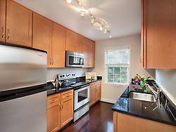 108 S. Courthouse Road Arlington, VA Myerton Condominium JBG designer Jeff Akseizer Kitchen