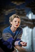 Patrycia Ziolkowska, actress at Schauspiel Frankfurt.<br /> <br /> photo &copy; peter-juelich.com
