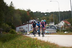 Maria Giulia Confalonieri (ITA) and Lourdes Oyarbide (ESP) in the break at Ladies Tour of Norway 2018 Stage 3. A 154 km road race from Svinesund to Halden, Norway on August 19, 2018. Photo by Sean Robinson/velofocus.com