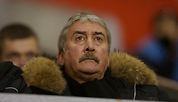 Liverpool, England - Friday, January 26, 2007: Liverpool's Chairman David Moores watches the youth team beat Reading 1-0 during the FA Youth Cup 5th Round match at Anfield. (Pic by David Rawcliffe/Propaganda)