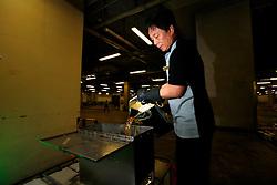 CHINA HONG KONG 27MAY10 - Cooking oil recycling in the basement at the Festival Walk Mall in Kowloon Tong in Hong Kong...jre/Photo by Jiri Rezac..© Jiri Rezac 2010