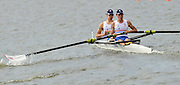 Brandenburg, GERMANY,  GBR BLM2- , Bow , Jon PRESTON and Carl DELANEY, move away from the start at the 2008 FISA U23 World Rowing Championships, {idow], {date}, [Mandatory credit: Peter Spurrier Intersport Images]. Rowing Course: Brandenburg, Havel Rowing Course, Brandenburg, GERMANY