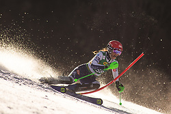 Klara Livk (SLO) during the Ladies' Slalom at 56th Golden Fox event at Audi FIS Ski World Cup 2019/20, on February 16, 2020 in Podkoren, Kranjska Gora, Slovenia. Photo by Matic Ritonja / Sportida