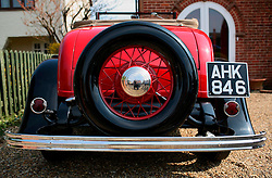UK ENGLAND NORFOLK 9APR07 - Oldtimer automobile in Cromer, north Norfolk...jre/Photo by Jiri Rezac..© Jiri Rezac 2007..Contact: +44 (0) 7050 110 417.Mobile:  +44 (0) 7801 337 683.Office:  +44 (0) 20 8968 9635..Email:   jiri@jirirezac.com.Web:    www.jirirezac.com..© All images Jiri Rezac 2007 - All rights reserved.