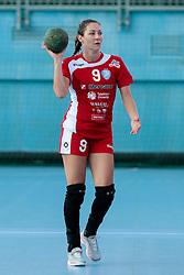 Nina Jericek of Krim during handball match between RK Zagorje and RK Krim Mercator of Super Cup 2016, on August 27, 2016 in SRC Marina, Portoroz / Portorose, Slovenia. Photo by Matic Klansek Velej / Sportida