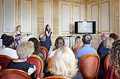 2018-06-22 Margaux and Flora St Florentin presentation