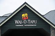 New Zealand, North Island, Rotorua, The Te Puia Geothermal Cultural Experience, wai-o-tapu thermal wonderland