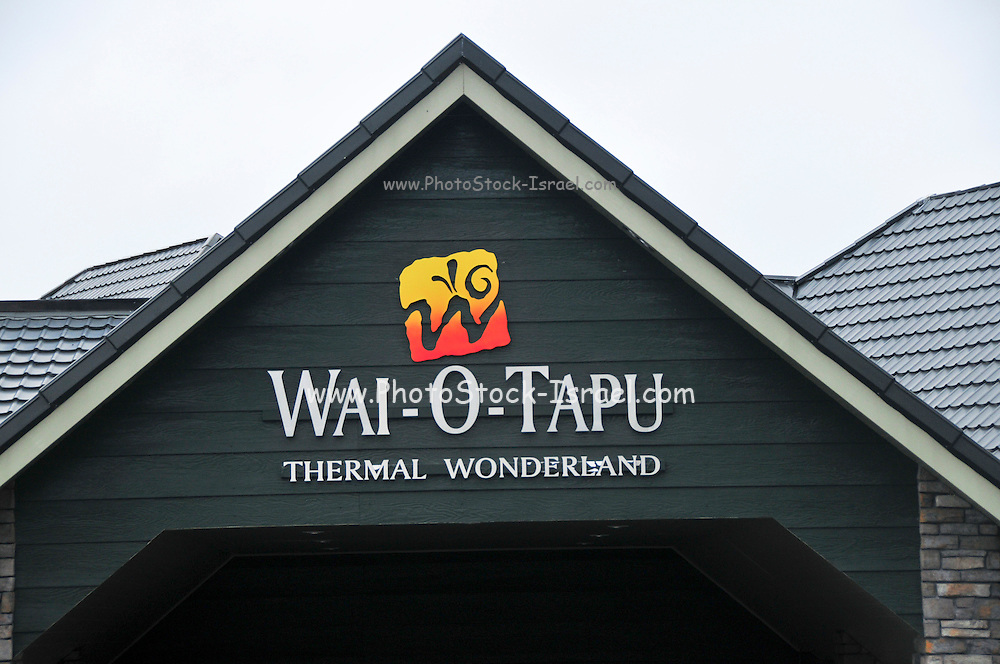 New Zealand, North Island, Rotorua, The Te Puia Geothermal Cultural Experience, wai-o-tapu thermal wonderland