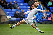 Peterborough Utd forward Marcus Maddison (21) scores his second goal 4-2 during the EFL Sky Bet League 1 match between Peterborough United and Wycombe Wanderers at London Road, Peterborough, England on 2 March 2019.