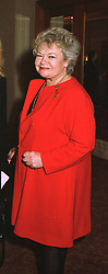 SANDY CHALMERS, sister of TV presenter Judith Chalmers, at a luncheon in London on 3rd November 1997.MCT 5 WORO