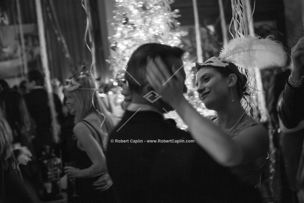 NEW YORK, NY &ndash; DECEMBER 331, 2013: Annual Soho Grand Masquerade Ball. <br /> <br /> Photo by Robert Caplin
