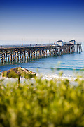 San Clemente Pier Vertical Photo