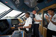 ROTTERDAM-26 september 2011-Feyenoord meets the Port. Sekou Cissé en Jerson Cabral. Foto: Gerrit de Heus