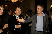 ROBERT VIOLETTE; HANS ULRICH, Serpentine Pavilion opneing event: Drinks party hosted by the American Ambassador Robert Tuttle at his residence  in Regent's Park. .  *** Local Caption *** -DO NOT ARCHIVE-© Copyright Photograph by Dafydd Jones. 248 Clapham Rd. London SW9 0PZ. Tel 0207 820 0771. www.dafjones.com.