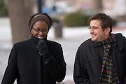 Geography professors, Tom Smucker and Elizabeth Wangui