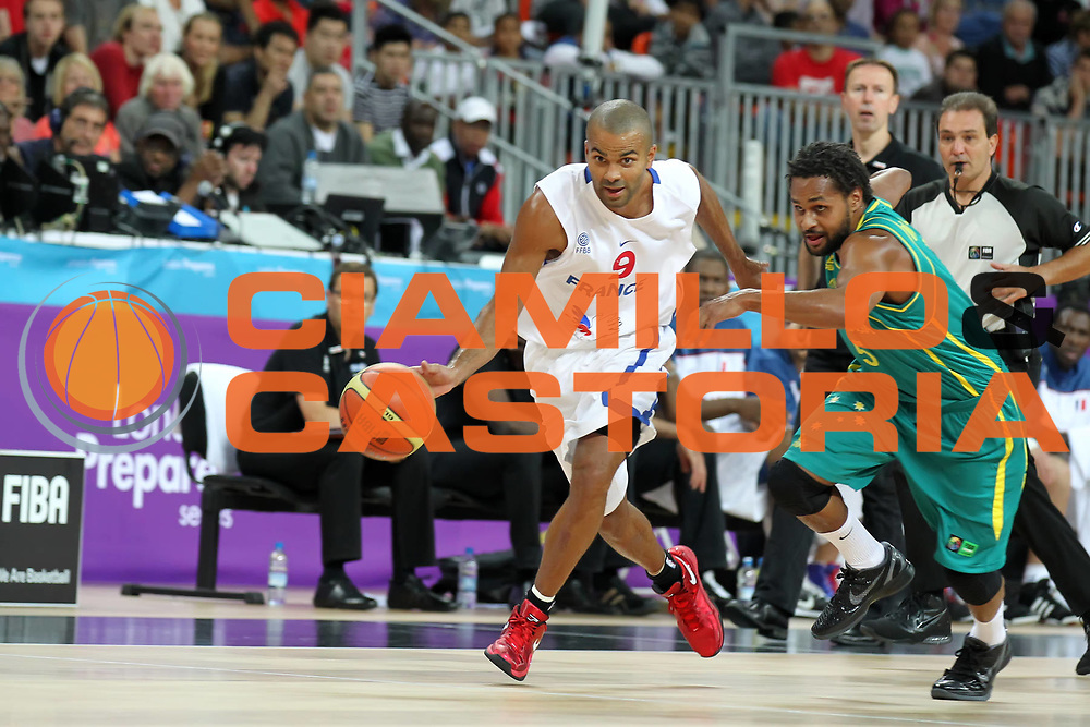 DESCRIZIONE : Londra London Olympic Test Event<br /> GIOCATORE : Tony Parker<br /> SQUADRA : Francia France<br /> EVENTO : London Olympic Test Event<br /> GARA : Francia Australia France Australia<br /> DATA : 17/08/2011 <br /> CATEGORIA : <br /> SPORT : Pallacanestro <br /> AUTORE : Agenzia Ciamillo-Castoria/E.Castoria<br /> Galleria : Olympic Test Event London 2012<br /> Fotonotizia : Londra London Olympic Test Event<br /> Predefinita :