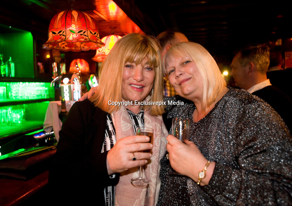EXCLUSIVE<br />   Kellie Maloney, former Frank maloney boxing promoter celebrates, its sixty-second birthday at The Irish Pub in Vilamoura Marina, Portugal.<br />  Maloney was better known for being the manager of Boxing Champion Lennox Lewis, Kellie Maloney as she is now known will have her Gender operation in Feb.<br /> ©Exclusivepix Media