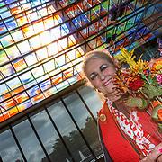 NLD/Hilversum/20181003 - Onthulling Mies Bouwman Totempaal, Martha Röling