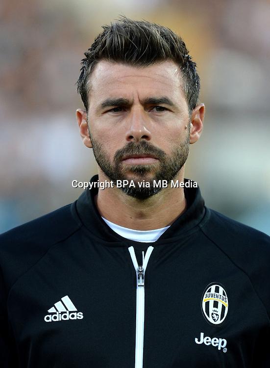 Italian League Serie A -2016-2017 / <br /> ( Juventus FC  ) - <br /> Andrea Barzagli