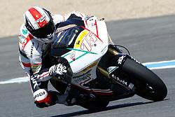 01.05.2010, Motomondiale, Jerez de la Frontera, ESP, MotoGP, Race, im Bild Mattia Pasini - Jir Moto2. EXPA Pictures © 2010, PhotoCredit: EXPA/ InsideFoto / SPORTIDA PHOTO AGENCY