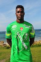 Joan Hartock - 09.09.2015- Photo Officielle de Brest - Ligue 2<br /> Photo : Philippe Le Brech / Icon Sport