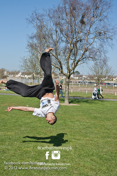 Parkour, Tricking and Freerunning show and photography with No Limits at Waterford, Ireland.