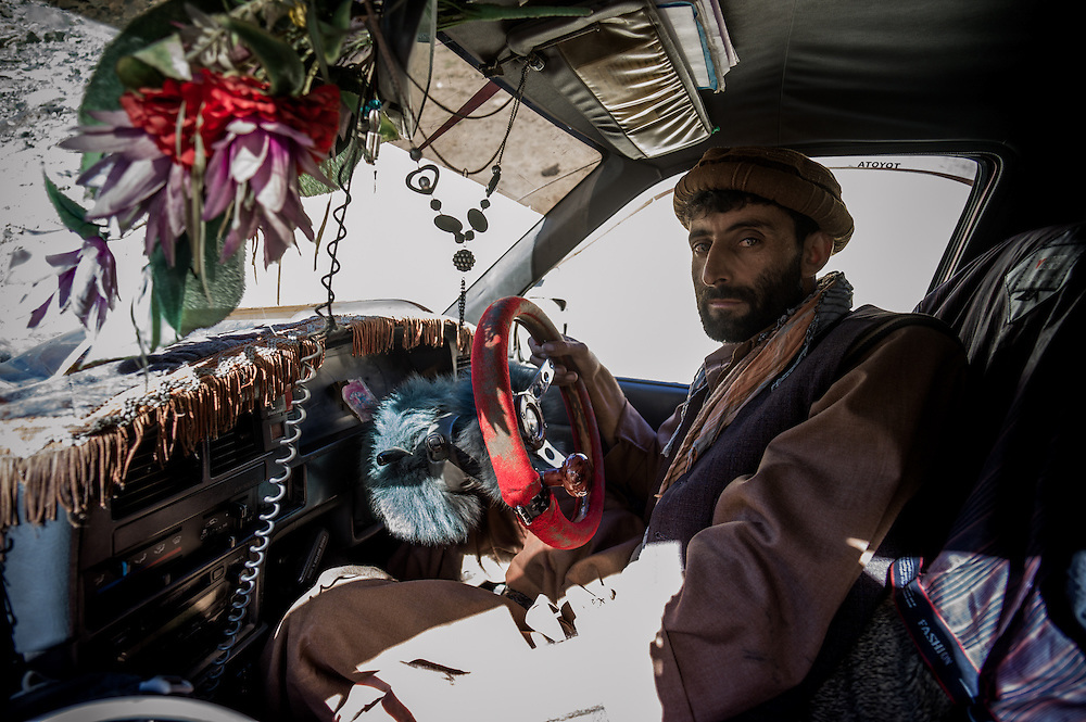 Our driver, Afghanistan.