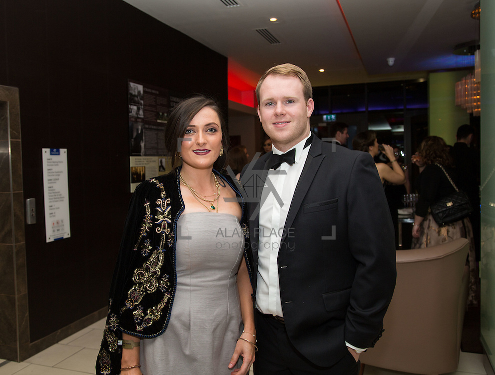 22.10.2016                 <br /> Society of Young Solicitors Annual Conference Gala Ball, Strand Hotel Limerick. Attending the event were, Gillian Rea and Shane Kelly. Picture: Alan Place
