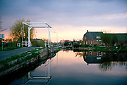 Reeuwijk, a small village situated in the waterlandscape of Holland