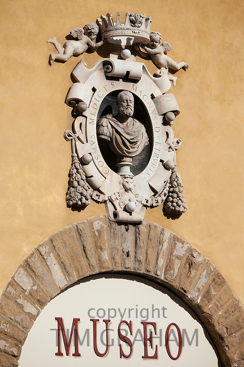 Museo dell Opera di Santa Maria del Fiore, Museum of the Opera of Saint Mary of Fiore, in Piazza di San Giovanni, Florence, Italy